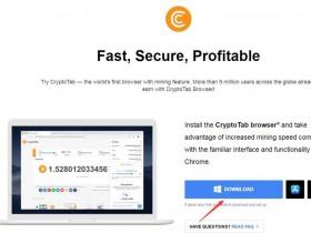 CryptoTab 一款可以赚钱的浏览器(挖比特币)