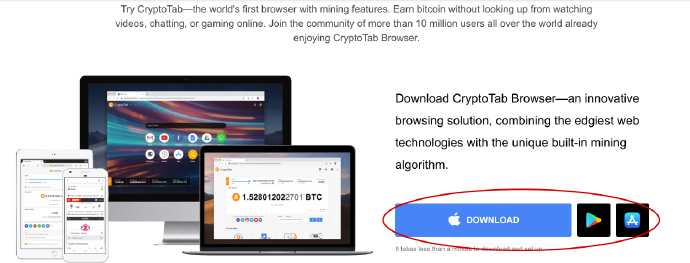 浏览器挖矿 CryptoTab浏览器免费挖矿浏览器